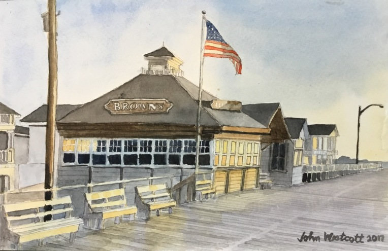 Brown's Restaurant at 5:30 AM - Ocean City NJ