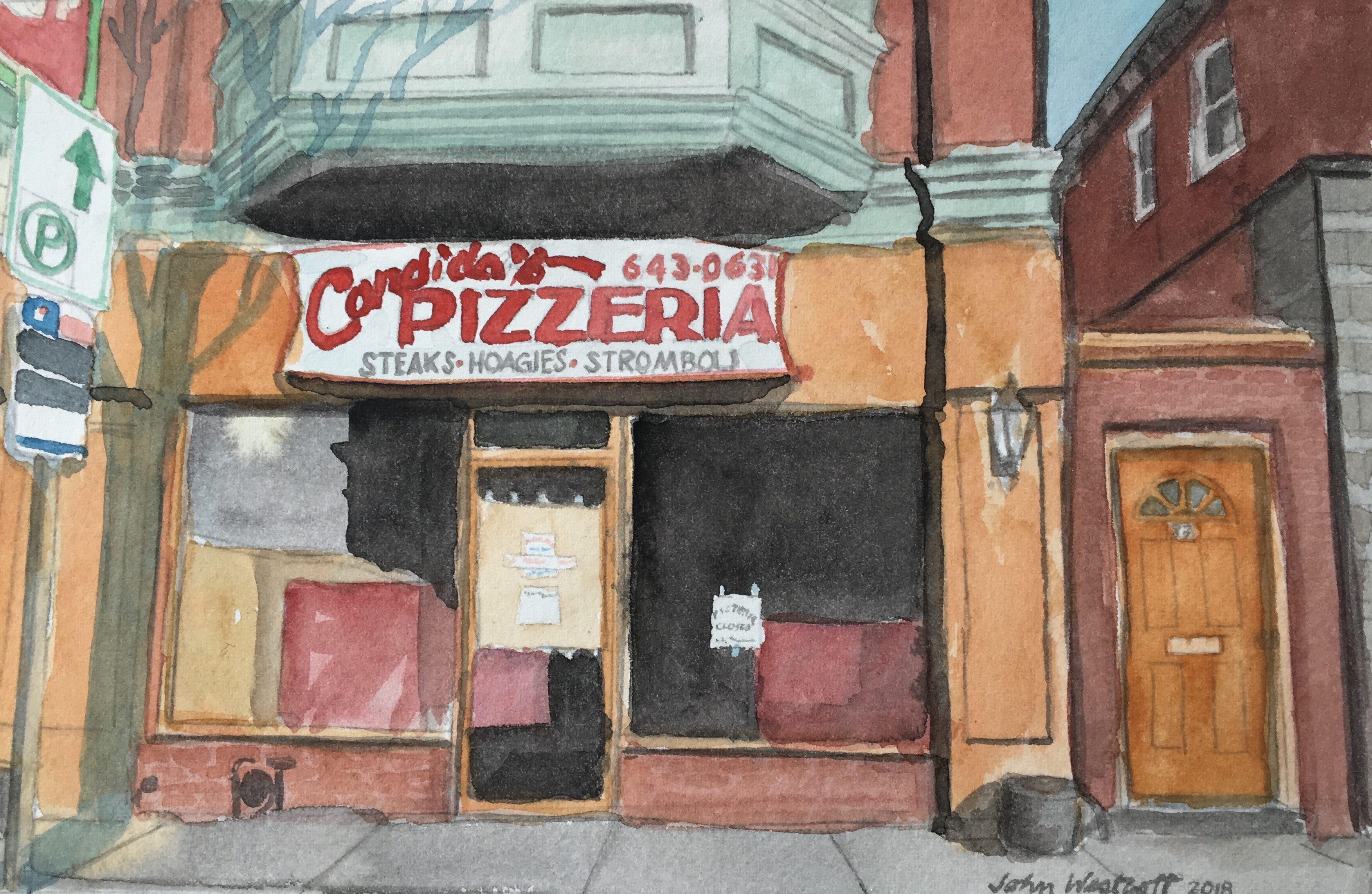 Candida's Pizza-Permanently Closed