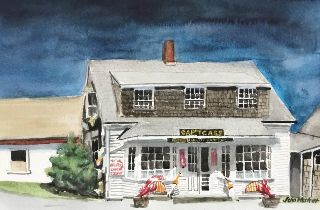 Cap't Cass Seafood Restaurant at Rock Harbor Cape Cod